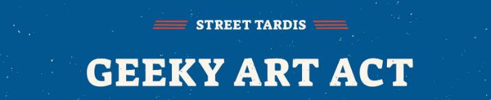תערוכת Street Tardis