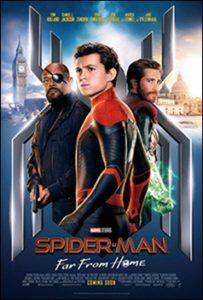 כרזת הסרט ספיידר-מן: רחוק מהבית